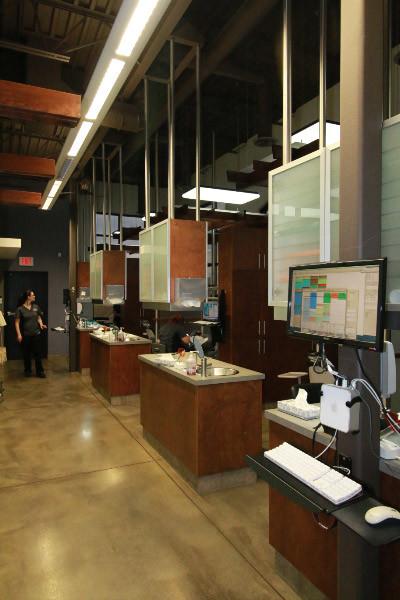 King & Knowlton Orthodontics Team Work Stations